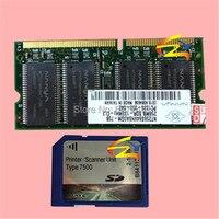 Compatível para Richo MP7500 cartão SD + RAM sd card scanner kit MP7500 impressora embalado para 10 pcs atacado
