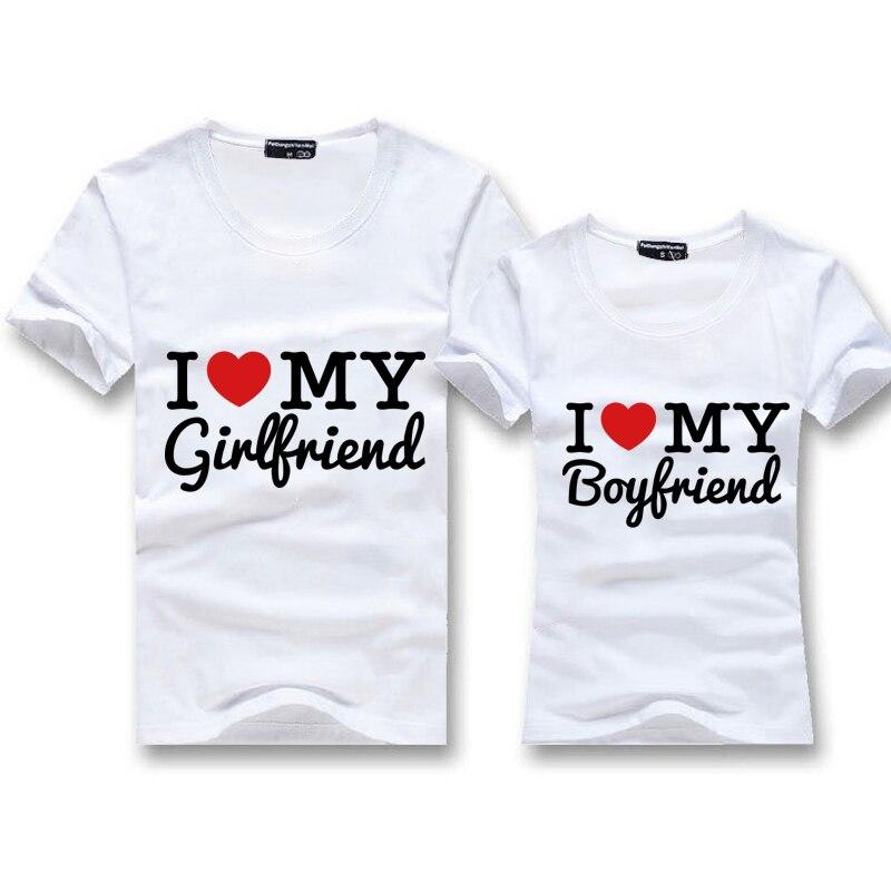 Novio y la novia de camiseta para parejas ropa del estilo