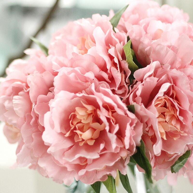 Les bébés souffle Gypsophile Fleurs De Soie Décoration Couleurs Mélangées