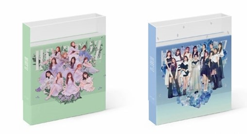MYKPOP 100 OFFICIAL ORIGINAL IZONE MINI 2 HEART IZ IZ ONE Album Set CD Photo