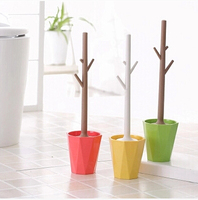 Factory Direct Sale Durable Type Toilet AbsToilet Brush Holder Set For Bathroom Bath With Promotion Price