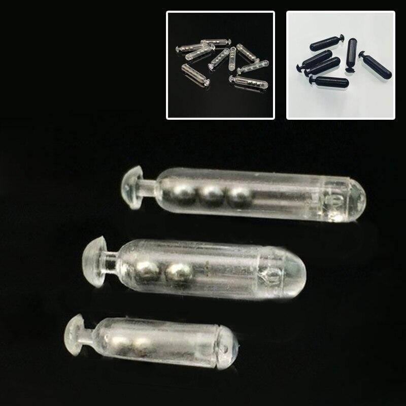 120pcs Worm Jig Fishing Lure Glass Rattles Kit Insert Tube Rattles Shaking