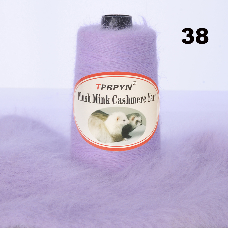 Image 5 - TPRPYN 200g /lot With Free Partner Yarn thread to knit Mink cashmere wool yarn Mink knitting crochet line knitting NL164R147-in Yarn from Home & Garden