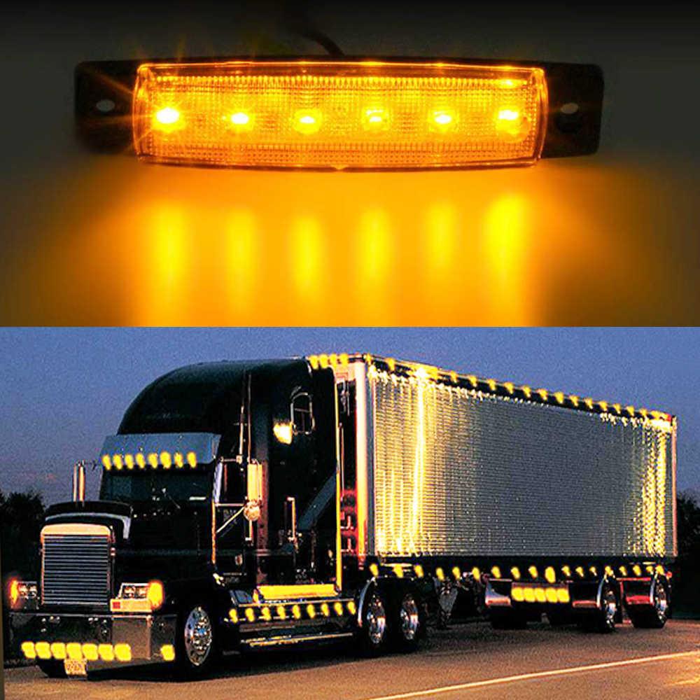 EAFC Автомобильный светодиодный фонарь с боковым зазором Задний обратный поворот сигнальный фонарь для грузовика и прицепа UTE предупреждающий туман парковочное освещение бар
