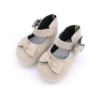 Tilda 5 6CM BJD Doll Shoes Causal Sneackers Accessories For Dolls Mini Toy Boots With Bow