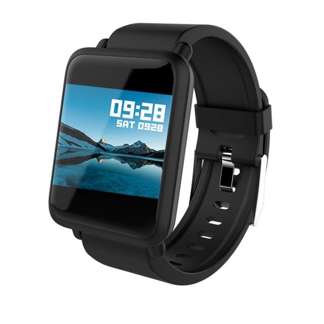 Top Marke Frauen Männer Sport Uhr Blutdruck Monitor Smart Uhren Wetter Prognose Elektronische Armbanduhr Für Android IOS|Damenuhren|Uhren -