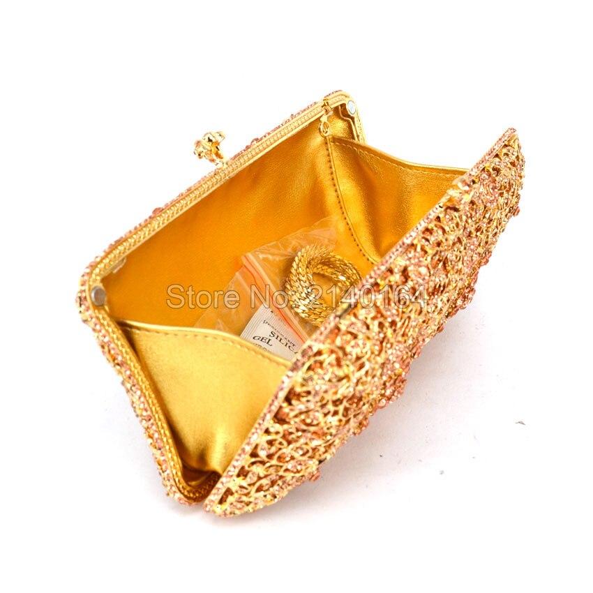 Noce Fleur Femmes Diamants Nuptiale Sac A Clouté 616 Bourse Et À Champagne Evening Date Soirée Bag Matériel Embrayage Main Sacs Diamant Or De 0xqawZ