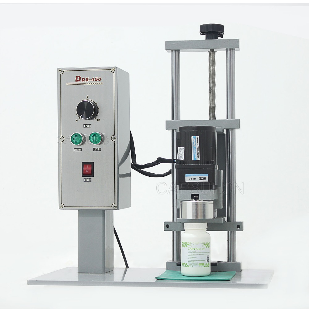 DDX-450 capping machine, table-top cap screwing machine (220V 50HZ) ddx 8228