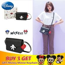 Disney Hand Bags Women Wallets Fashion Single Shoulder Diagonal Bag Lovely Girls Shopping Portable School Mickey Plush Backpack