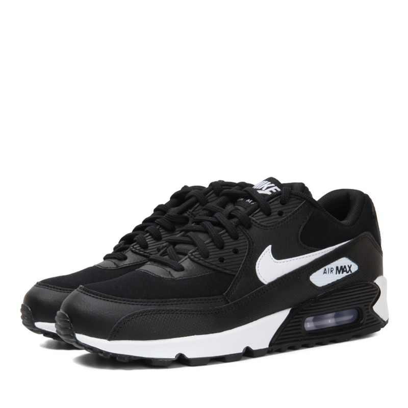 Оригинал 2018 NIKE WMNS AIR MAX 90; женские кроссовки для бега; дышащие амортизирующие кроссовки; женская уличная прогулочная обувь; 325213