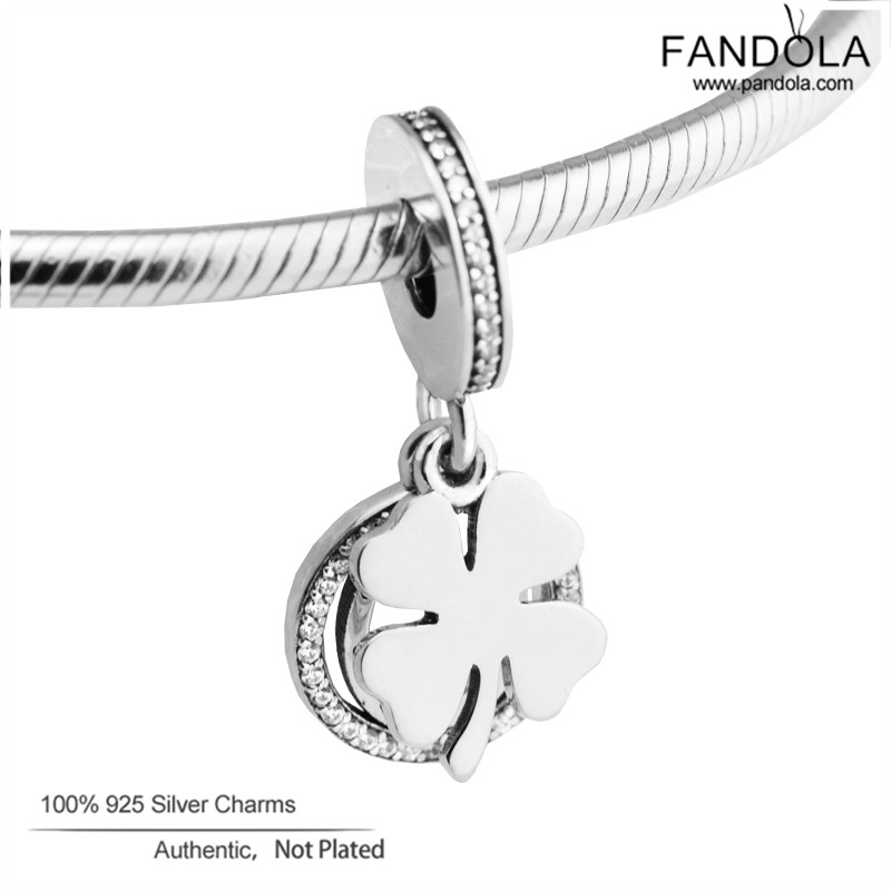 Fits Pandora Charms Bracelet 925 Sterling Silver Lucky Day Dangle Beads Charm Silver 925 Jewelry perles pourFits Pandora Charms Bracelet 925 Sterling Silver Lucky Day Dangle Beads Charm Silver 925 Jewelry perles pour