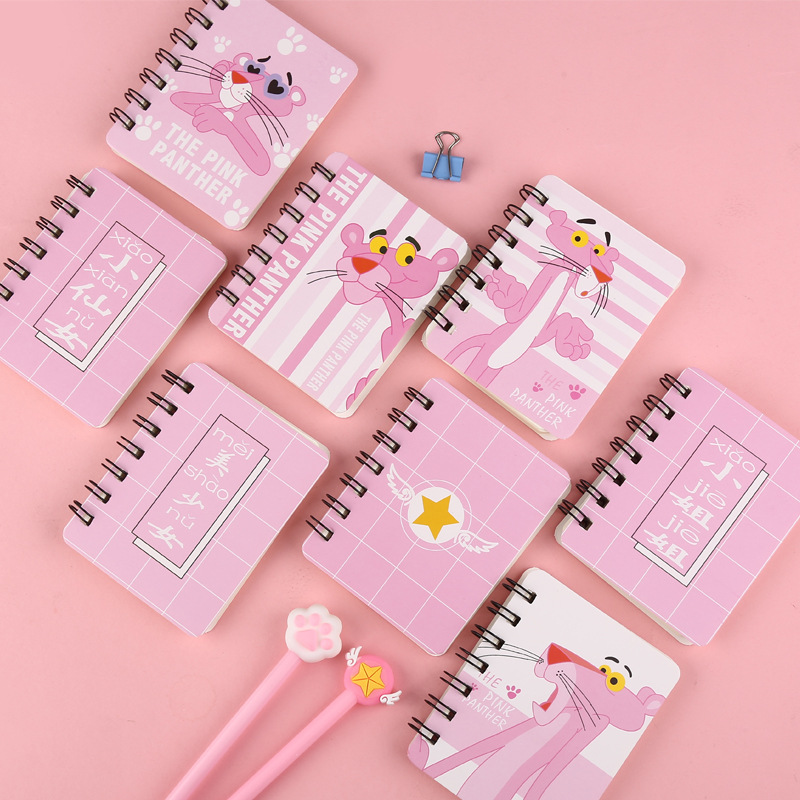 16 Styles Spiral Book Coil Notebook Kawaii  Lined Blank Grid Paper Journal Diary Planner For School Supplies Stationery Gift