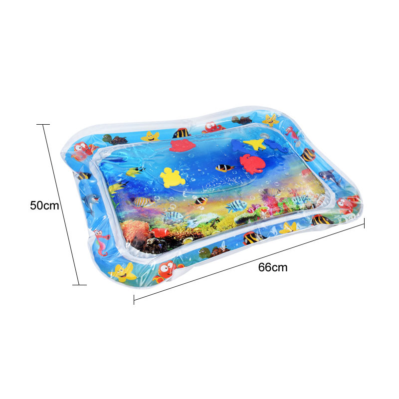 Water Mat Baby Kids Water Play Mat Toy Inflatable Thicken PVC Fun Toddler Activity Play Center Babies Air Mattresses Mats Toys | Happy Baby Mama