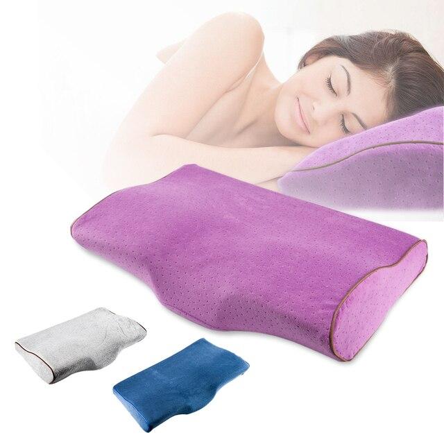 Profesional especial almohada Salón/dormir uso crónica rebote aliviar Cervical presión Multifuncti suave almohada herramienta de belleza