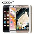 6 pulgadas android 5.1 teléfono quad core 2sim xgody y20 teléfono inteligente tarjeta de 8 gb rom + 1g ram con micro usb y caja del teléfono móvil teléfono