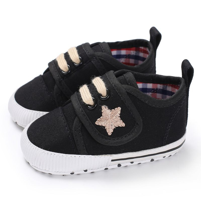Baby Boy Shoes Summer Canvas Toddler Shoes Newborn Infant Baby Boys First Walkers Anti-slip Soft Shoes Sneaker