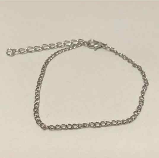 2018 hot sale simple vintage geometry Alloy chain article Snake bone chain Bracelet Gold and silver Female charm jewelry 1 pcs