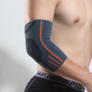 Unisex Pads Elbow Support Compression Sleeve Volleyball Lengthen Elbow Outdoor Breathable Tennis Workouts Arm Protector(China)