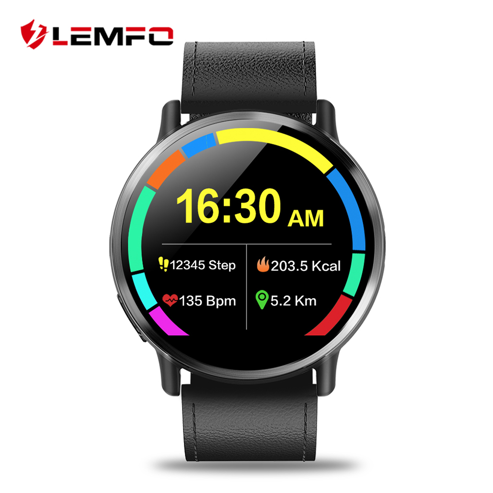 LEMFO LEM X 4G Smart Watch Android 7.1 Super Big 2.03 inch Screen 900Mah Battery With 8MP Camera Sport Business Strap For Men