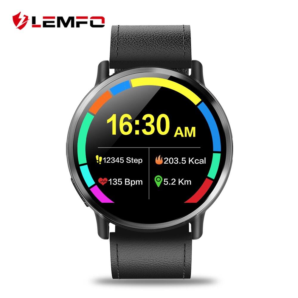 LEMFO LEM X 4g Montre Smart Watch Android 7.1 Super Grand 2.03 pouce Écran 900 mah Batterie Avec 8MP Caméra sport de Courroie D'affaires Pour Hommes