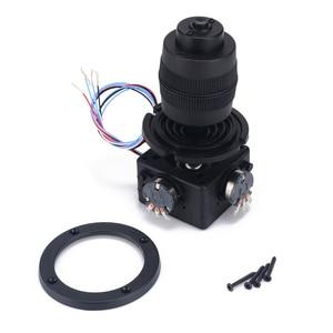 Image 2 - Botão eletrônico de potenciômetro joystick de 4 eixos para controlador JH D400X R4 10k 4d com fio para industrial