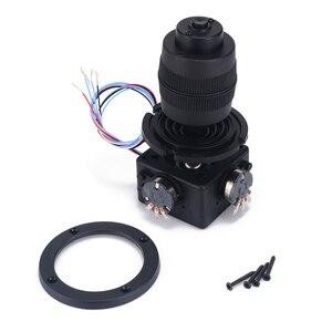 Image 2 - Elektronik 4 Axis Joystick Potansiyometre Düğmesi JH D400X R4 10 K 4D Denetleyici için Tel ile endüstriyel