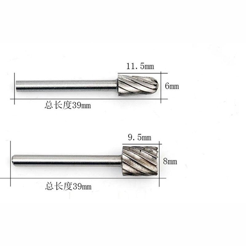 6 pcs mini foret ensemble coupe bois routeur bits travail du bois - Foret - Photo 5