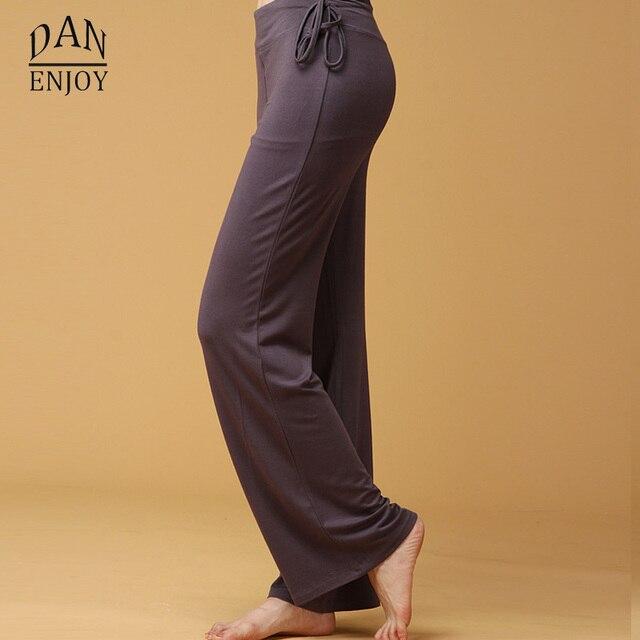 d58b6ed88f5df Women Modal Yoga Leggings Pants Loose Elastic Running Dance Gym Workout Wear  Fitness Training Sports Trousers