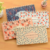 Cute Stationery Love Gardens Diary Planner Notepad Notebook Journals Personal Planner Agenda
