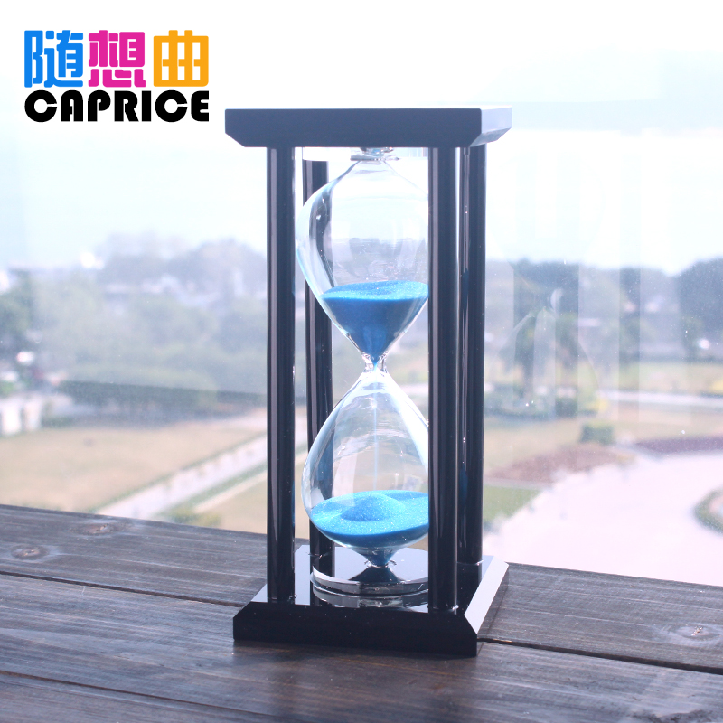 Creative time crystal ornaments hourglass timer 15/30 minutes birthday gift female office decorCreative time crystal ornaments hourglass timer 15/30 minutes birthday gift female office decor