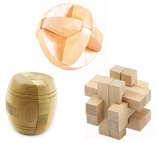Cube, Twist & Brain Teasers Brain Teasers Wooden Puzzles Kids Adults