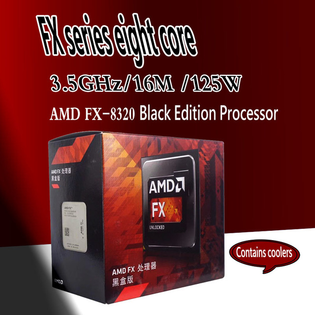 Amd Fx 8320 Fx Series 8 Core Black Edition Processor Fx 8320 Am3