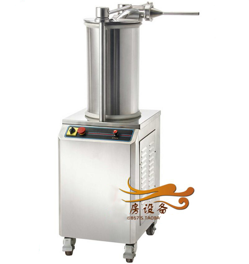 Automatic hydraulic Sausage filler Sausage stuffer Commerical Sausage meat extruder Fill the sausage Stuffing machine the invention of curried sausage