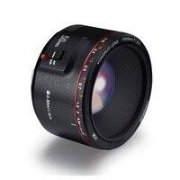 YONGNUO YN50mm F1.8 II Large Aperture Auto Focus Lens Small Lens with Super Bokeh Effect for Canon EOS 70D 5D2 5D3 600D White