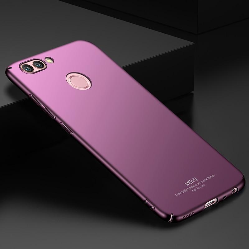 Lyx för Huawei Nova 2 Fodral Skydd Matt bakre fodral Fodral för - Reservdelar och tillbehör för mobiltelefoner