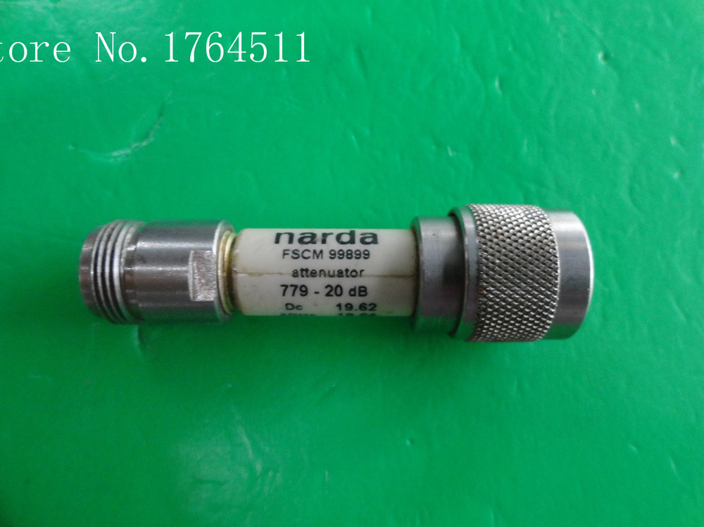 [BELLA] NARDA 779-20 DC-18GHz 20dB 5W N Coaxial Fixed Attenuator