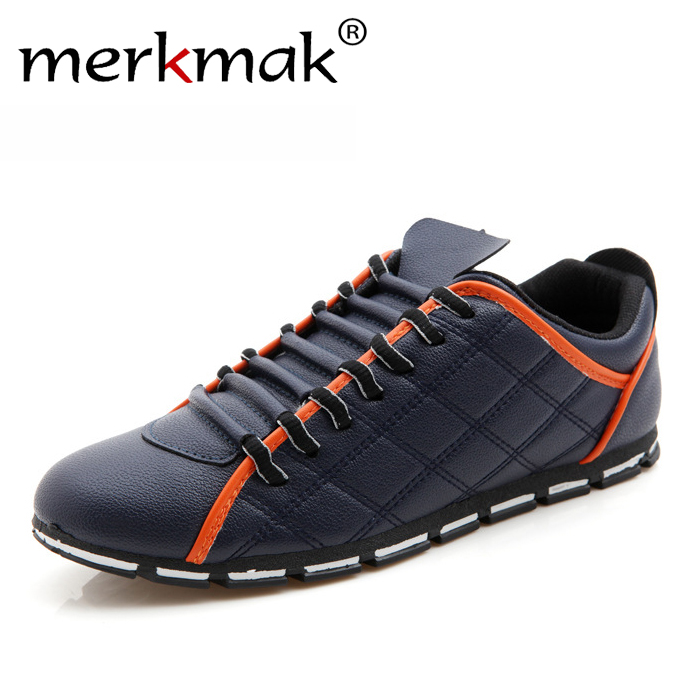 New 2017 High Quality Men PU Leather Flats Lace Up Fashion Casual Leisure Men's Flat Shoes Loafers Soft Light Male Footwear bimuduiyu new england style men s carrefour flat casual shoes minimalist breathable soft leisure men lazy drivng walking loafer