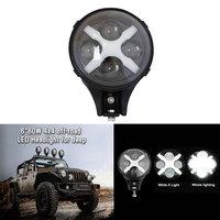 2PCS 6 Inch Truck Light 60W Cree LED Driving Fog Light 12V 24V For Jeep Wrangler
