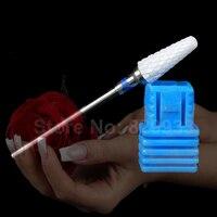Frete Grátis 1 pc Cerâmica Branca Unha Podologia Podologia Broca Electric Nail Arquivo Manicure Pedicure Removedor de Cutícula Mais Limpo