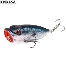 1pcs 6.5cm 11.8g Popper Fishing minnow fishing lure Crankbait Wobbler Tackle Isca poper Floating Top Water pike lures