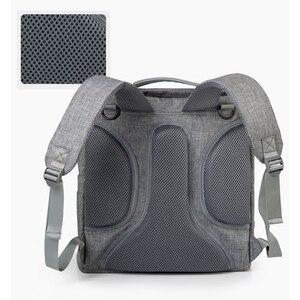 Image 5 - INSULAR แฟชั่นกระเป๋าผ้าอ้อมกระเป๋าเป้สะพายหลังผ้าอ้อมกระเป๋าแม่กระเป๋าเด็กสำหรับแม่พ่อกับรถเข็นเด็ก/เปลี่ยนแผ่น /กระเป๋าเปียก