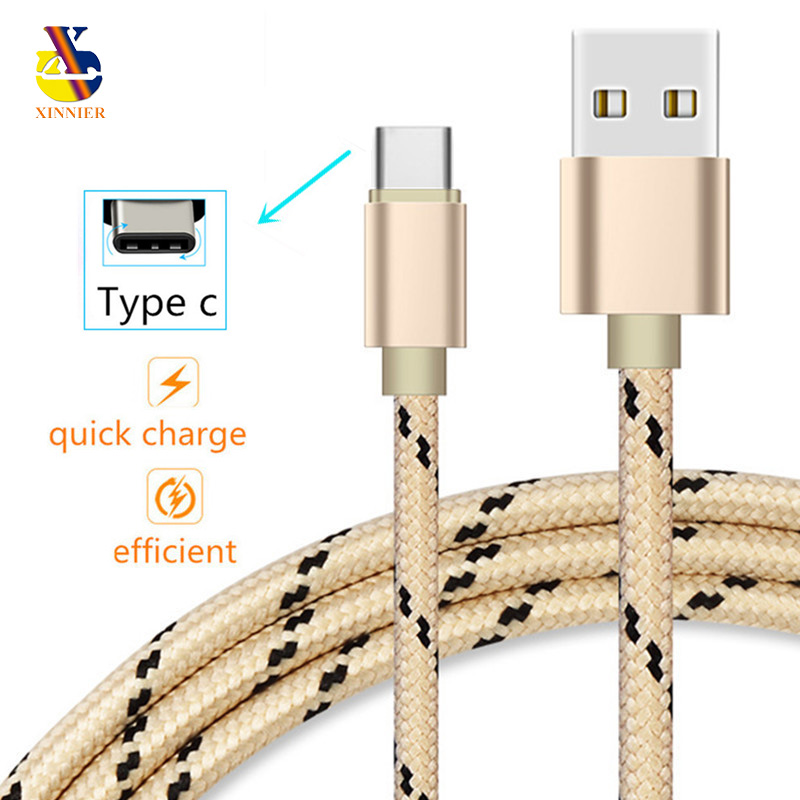 Type c USB C Charger Cable data Charging Cord adapter for Huawei p 9 P10 lg g5 g6 for samsung Galaxy s8 s9 plus a3 a5 a7 (2017)
