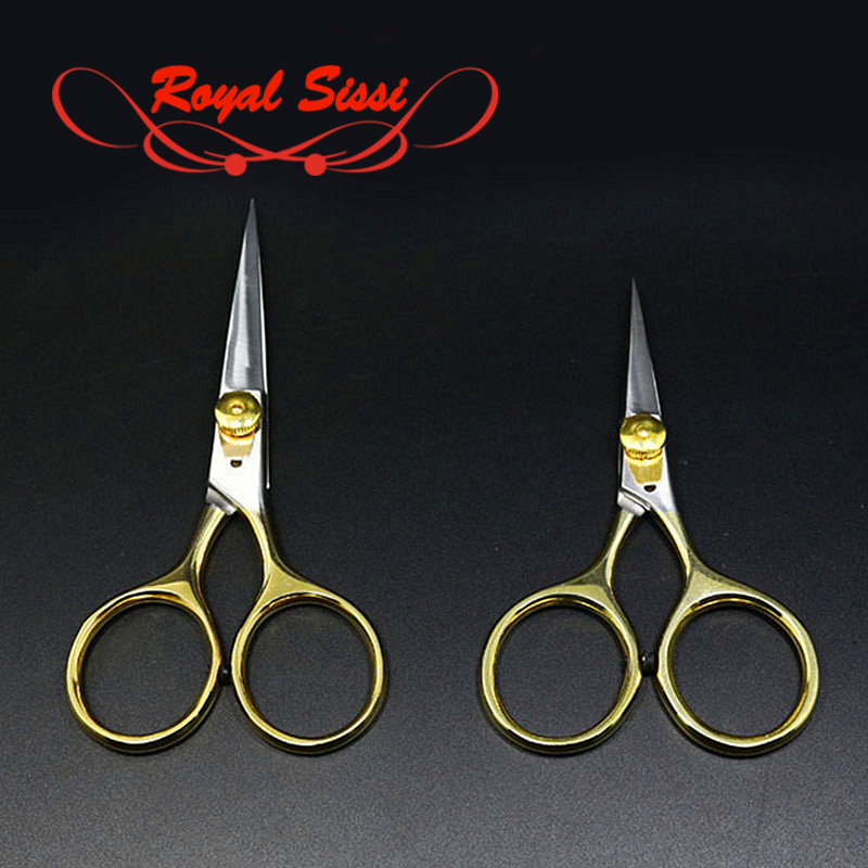 Super Sharp Fly Tying Scissors Adjustable Tension 4''or 5''first Class Gold Loop Razor Scissors Smooth Cutting Fly Tying Tools
