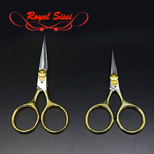 New super sharp fly tying scissors adjustable tension 4&5first class gold loop razor smooth cutting tools