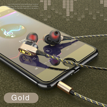 Wired Earbuds Headphones 3.5mm Earphone Earpiece With Mic Stereo Headset  for iPhone huawei Xiaomi 3.5mm earphones rock luxury zircon stereo earphone headphones headset 3 5mm earphones earbuds for iphone samsung xiaomi with micro 3 5mm headset