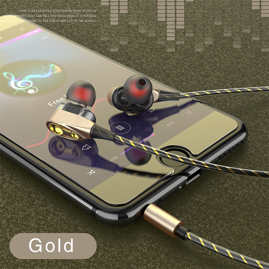 Wired Earbuds Headphones 3.5mm In Ear Earphone Earpiece With Mic Stereo Headset for iPhone huawei Xiaomi 3.5mm earphones