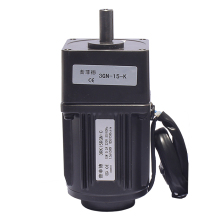 15W 220V AC adjustable speed motor motor Geared motor 3RK15GN-C Speed control motor