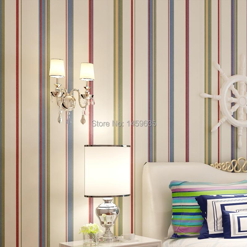 puro papel de pulpa de madera natural fondos de escritorio de moda multicolor de rayas verticales del papel pintado en fondos de pantalla de mejoras para
