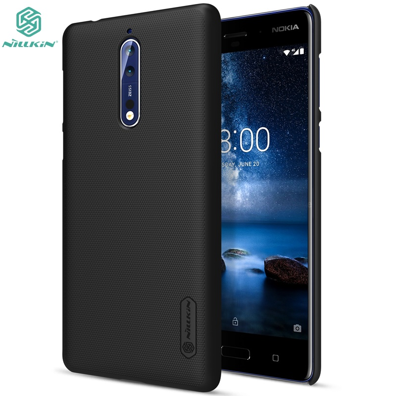 Phone Case For Nokia 4.2 NILLKIN Matte Super Frosted Shield Back Cover For Nokia 4.2 Phone Bumper Shell Case Gift Phone Holder