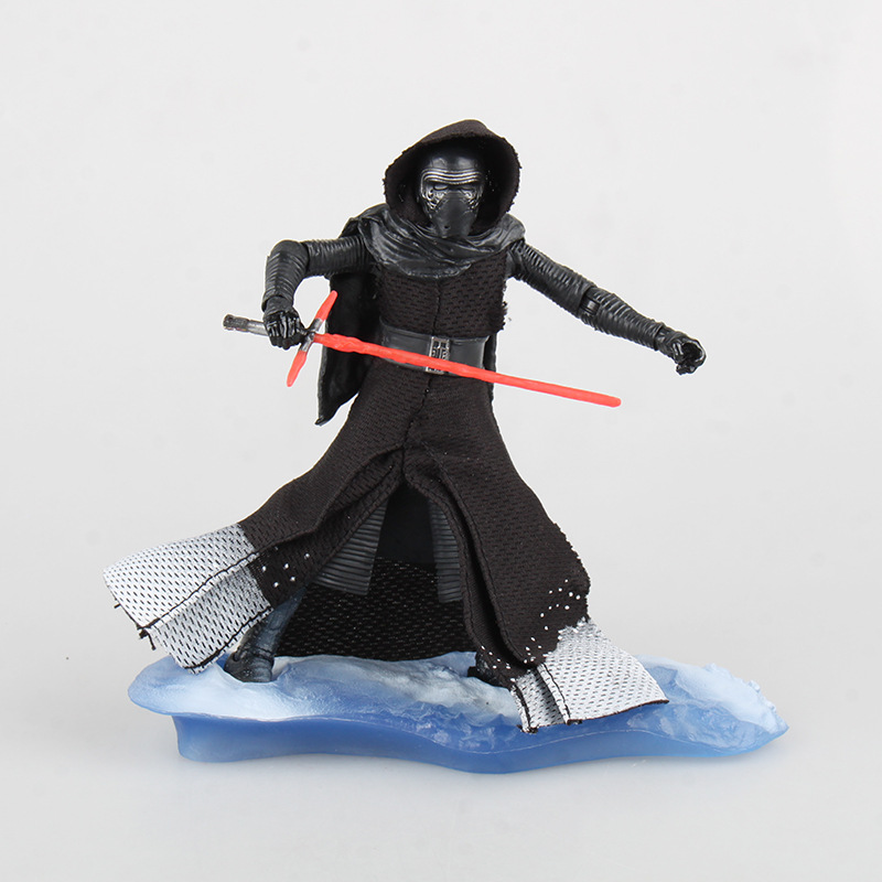 Free Shipping 7 Star Wars The black series Kylo Ren Starkiller Boxed 18cm PVC Actioin figure Collection Model Doll Toy Gift